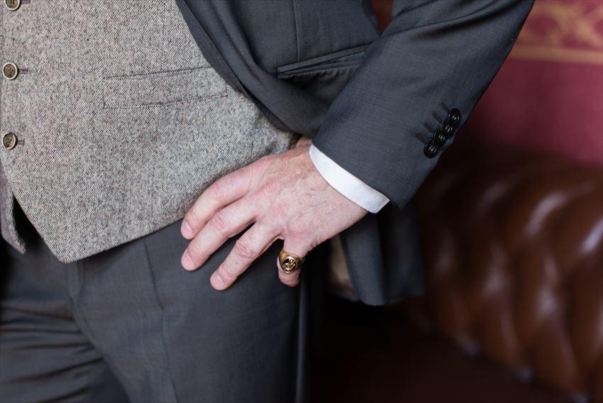 メンズアクセサリーのリングにはどんな種類がある?どの指につける?