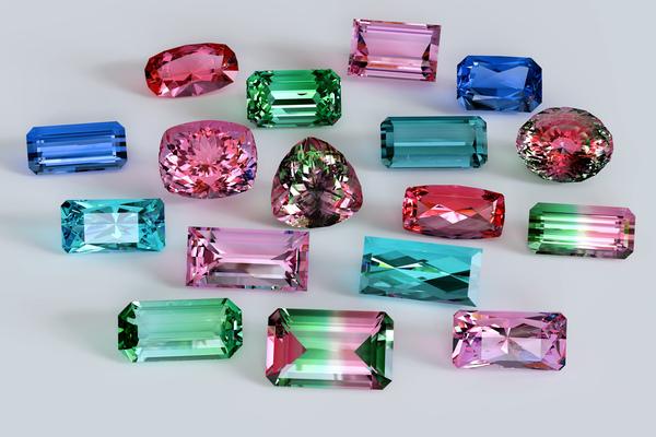 トルマリンの手入れ方法|最も多く色を持つ宝石の取り扱い方法