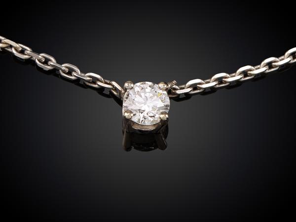 一粒ダイヤのネックレス|こだわりのオーダーメイドがおすすめ